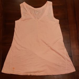 Lilly Pulitzer rouched back tank top